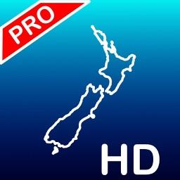 Aqua Map: New Zealand - GPS Nautical Charts | HD