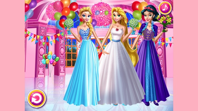 Royal Princess Makeover Party-Dressup Girly Games on the App Store