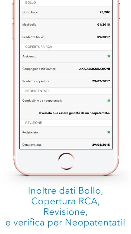 Controllo Targa - Check dati assicurazione e furto