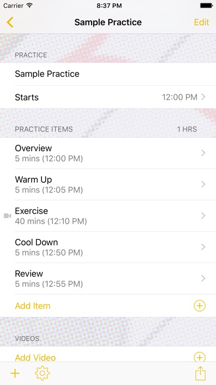 InfiniteVolleyball Practice Planner screenshot-1