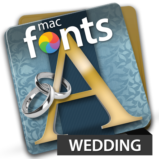 macFonts Wedding