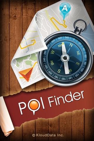 POI Finder - náhled