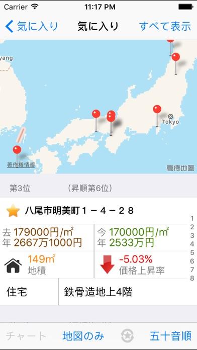 日本地価公示 screenshot1