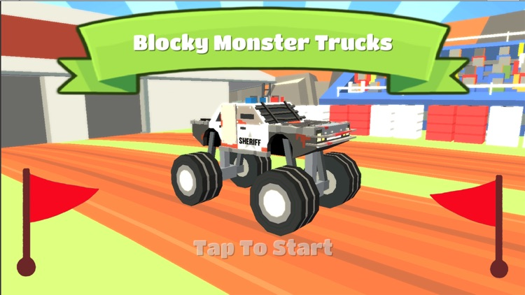 Blocky Monster - Highway Truck Games