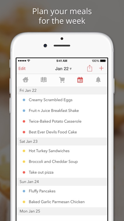 BigOven 350,000+ Recipes and Grocery List screenshot-4