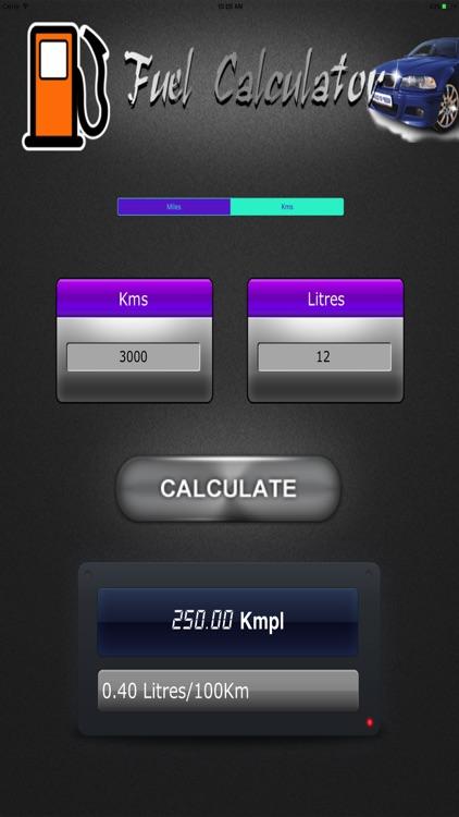 Fuel Efficiency Check HD screenshot-3