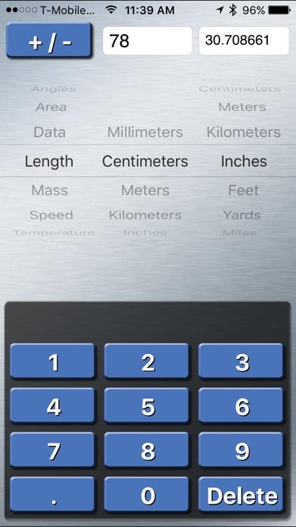 Units Converter - Metric and Standard Unit screenshot-3
