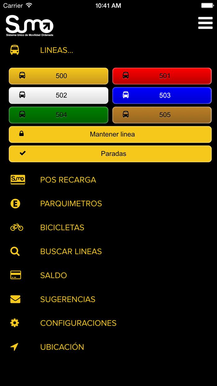 SUMO Tandil Screenshot