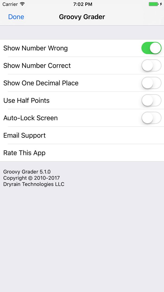 Groovy Grader Screenshot
