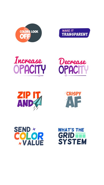 Design Feedback Sticker Pack screenshot-3