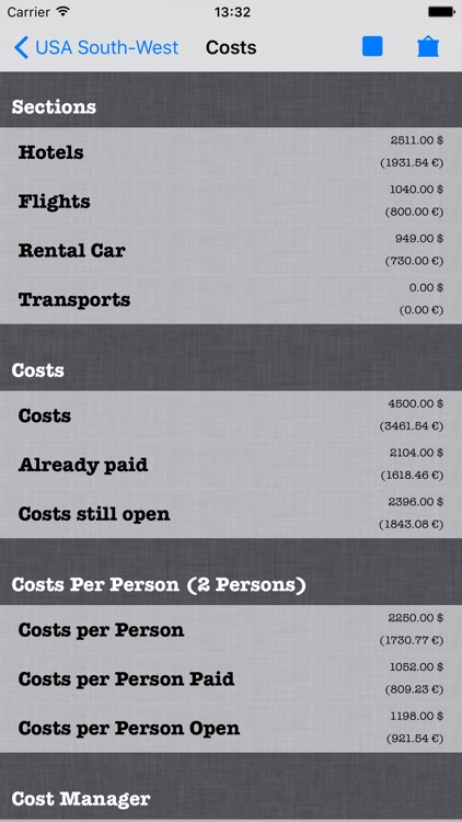 aTravel Manager screenshot-2