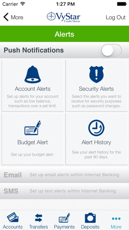 VyStar Mobile Banking for iPhone screenshot-3