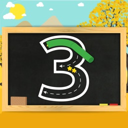 Trace Numbers • Kindergarten Kids Learning 123s