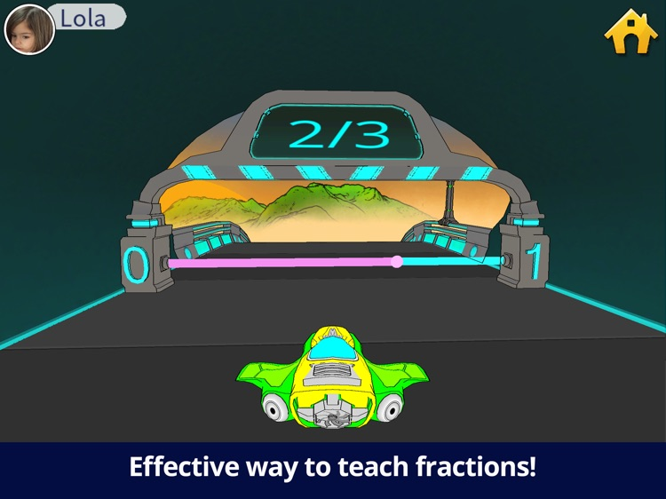 Teachley: Fractions Boost