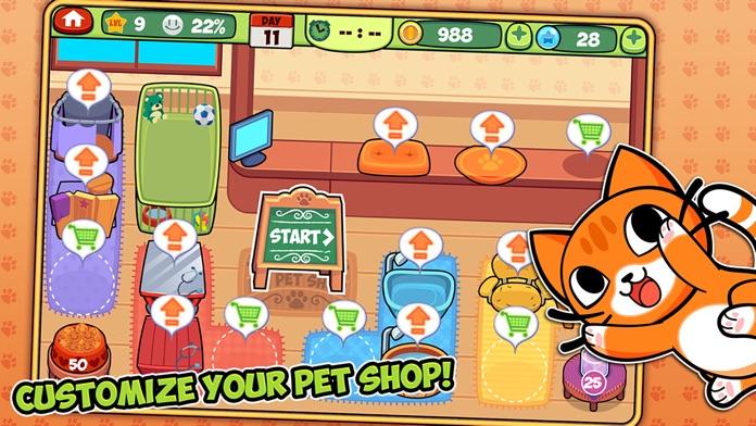 My Virtual Pet Shop - Pet Store, Vet & Salon Game Screenshot