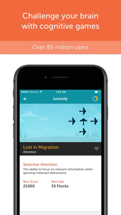 Lumosity - Brain Training app image