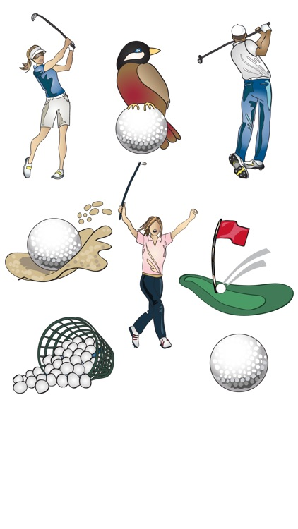 Golf Stickers & Emojis screenshot-3