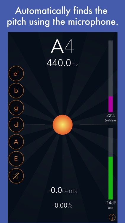 Tuna Pitch - chromatic instrument tuner