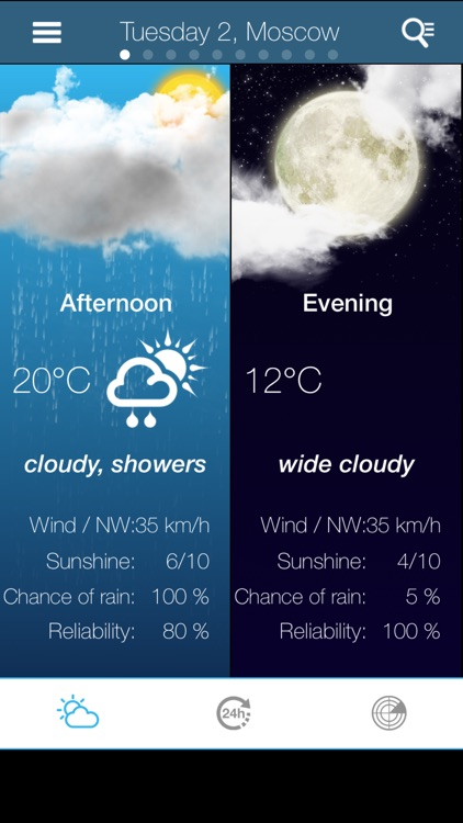 Weather for Russia screenshot-1