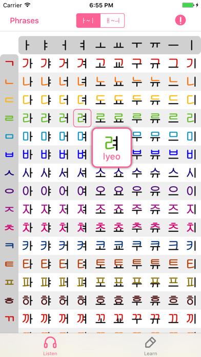 Korean Alphabet Pronunciation - Korean Letter
