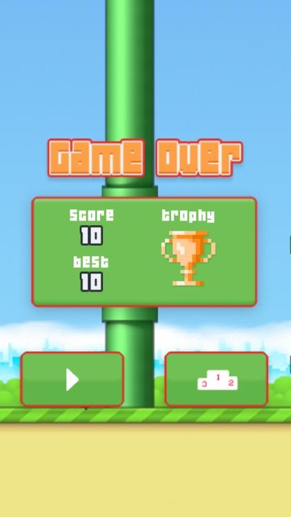 Faby Bird : The Flappy Adventure screenshot-3