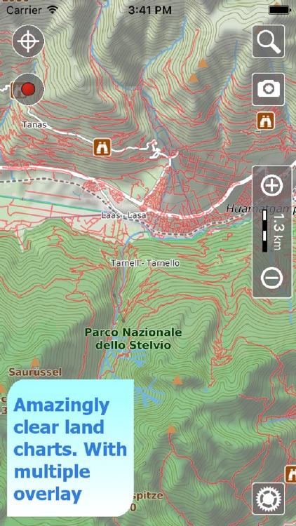 Trails of Stelvio & Swiss Parks - Maps for Hiking