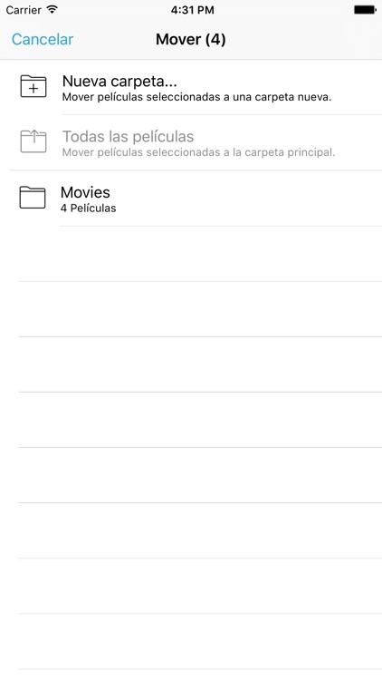 Movie Player – ¡Reproduce cualquier vídeo! screenshot-3