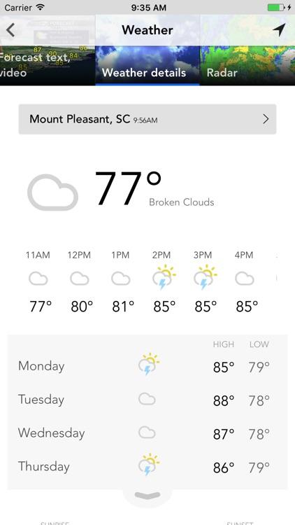 WCBD News 2 - Charleston, SC screenshot-3