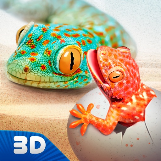 Lizard Wild Life Simulator 3D