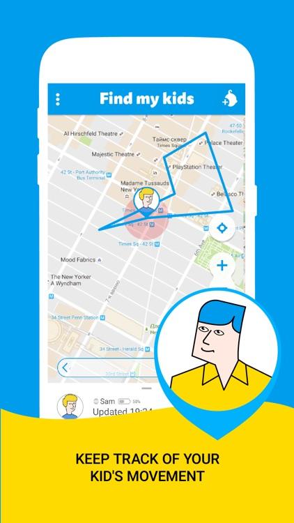 Find My Kids: Family, Child Phone Tracker, GPS Spy app image
