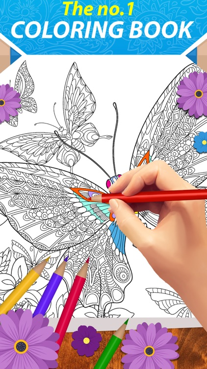 Coloring Book — No1 Coloring Book & Coloring Pages screenshot-0