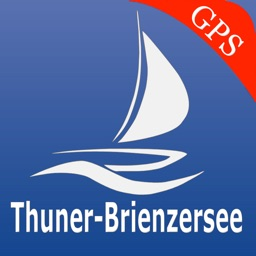 Thun - Brienz lakes GPS nautical charts