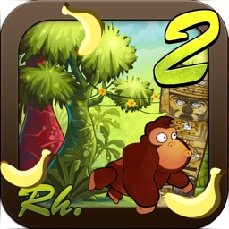 Banana Monkey Jungle Run Game 2- Gorilla Kong Lite