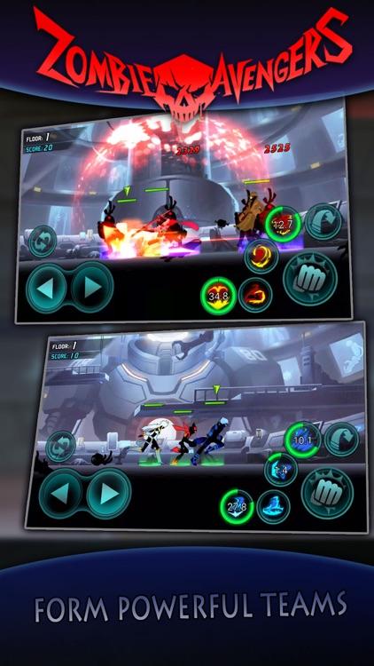 League of Stickman Zombie-Stickman War Z screenshot-4