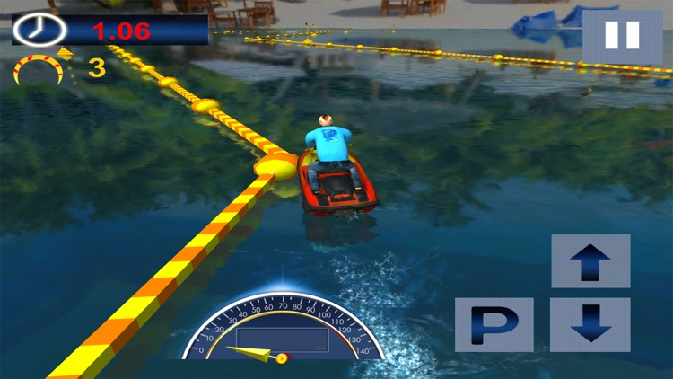 Speed Boat Ocean Ride Simulation screenshot-3