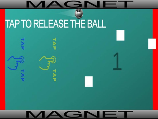 Magnetic Ball - Cool 2D Endless Run Game for Kids-ipad-0