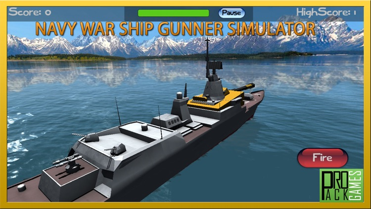 Navy Warship Gunner Simulator: Naval warfare Fleet