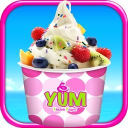 Frozen Yogurt Maker - Ice Froyo Summer Desserts