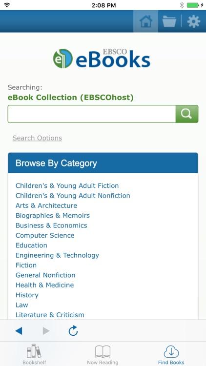 EBSCO eBooks screenshot-3