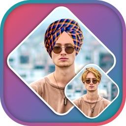 Punjabi Parne Photo Editor -Punjabi Parne Sticker