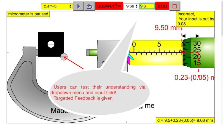 Micrometer Simulator Pro screenshot-3