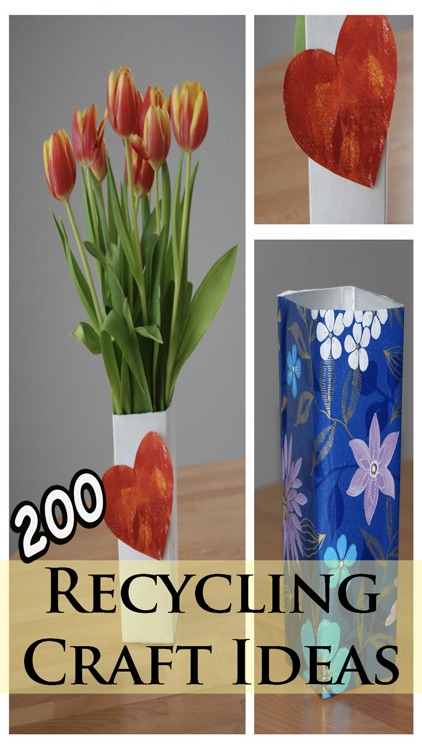 Recycling Craft Ideas