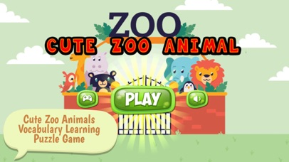 Cute Zoo Animals Vocabulary Learning Puzzle Game | App Price Drops