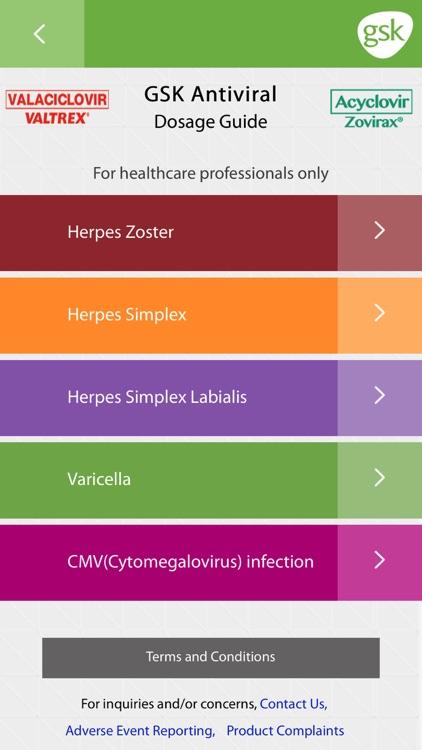 GSK Antibiotic Dosage Calculator screenshot-3