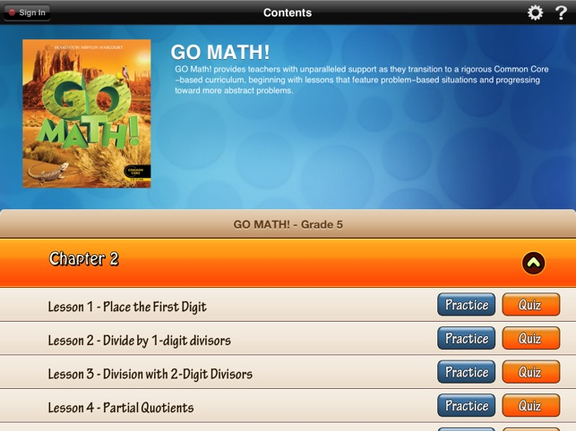 Go math daily grade 5 on the app store ipad screenshots fandeluxe Image collections