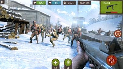 Zombie Call: Dead Shooting Sniper 3D screenshot one