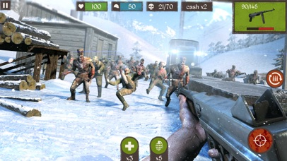 Zombie Call: Dead Shooting Sniper 3D screenshot one