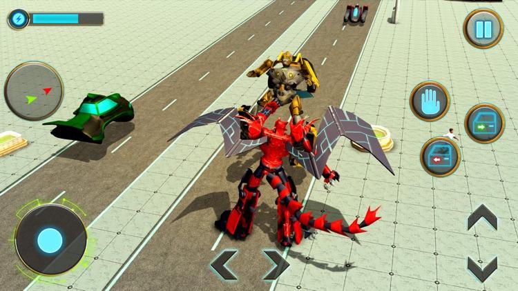 Incredible Dragon Robot 3D