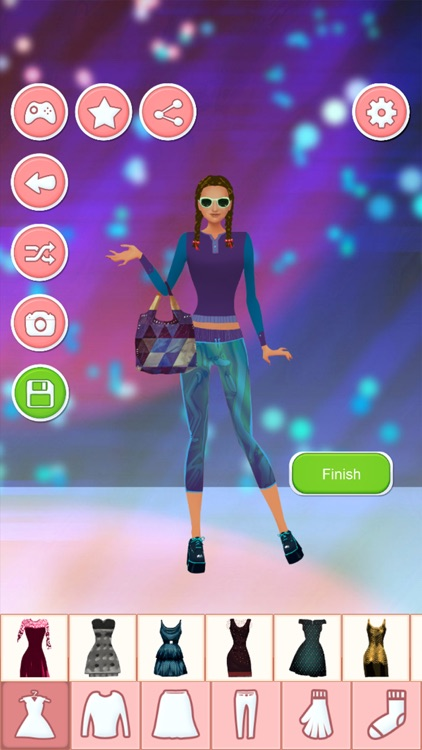 Party Dress Up Game For Girls: Fashion Makeover screenshot-3