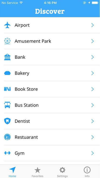 Discover-Find Places Nearby
